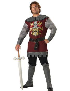 Adultes Homme Renaissance chevalier soldat armure Gilet médiéval en cuir costume