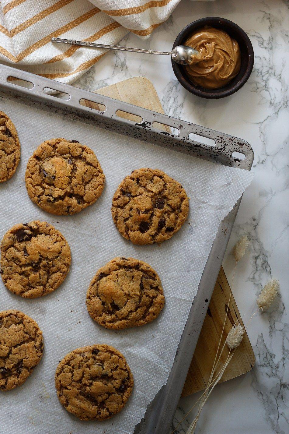 Recette cookies beurre de cacahuètes - blog Esperluette