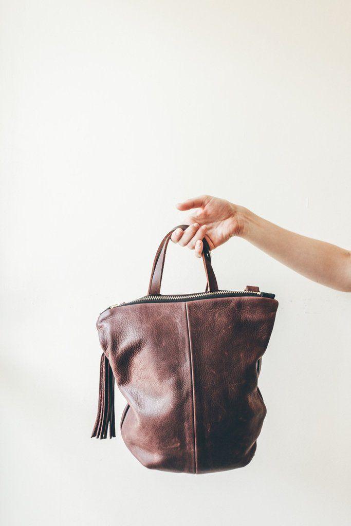 Eleven Thirty Toronto Leather Bags Deborah Bag Burgundy Victoire Boutique Ottawa