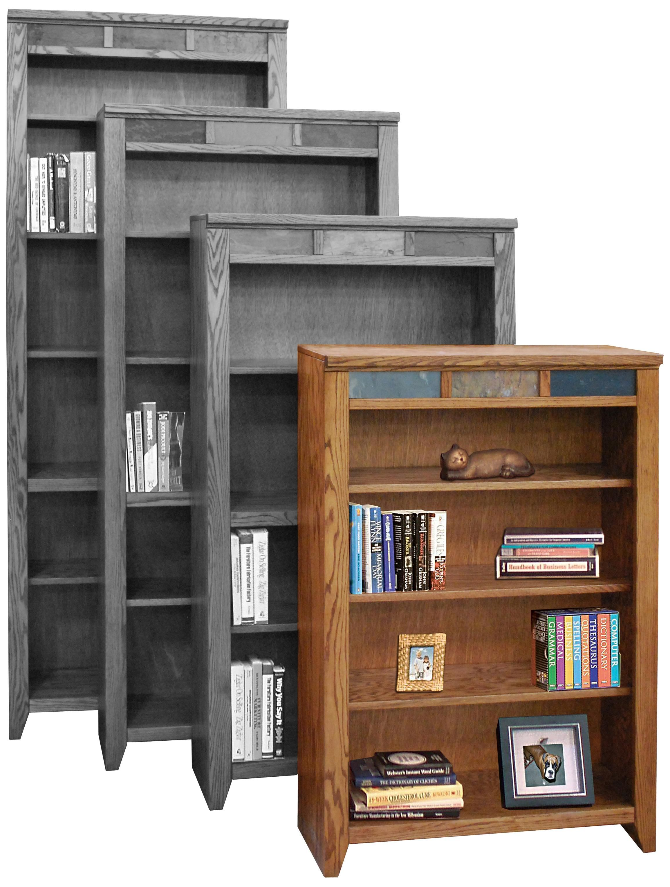 Oak Creek 48 Bookcase With Four Shelves By Legends Furniture Legends Furniture Bookcase Shelves