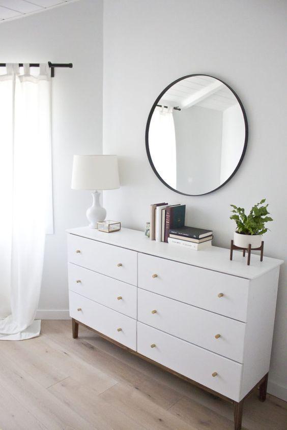 modern white dresser a west elm inspired ikea hack ikea hacks rh pinterest com