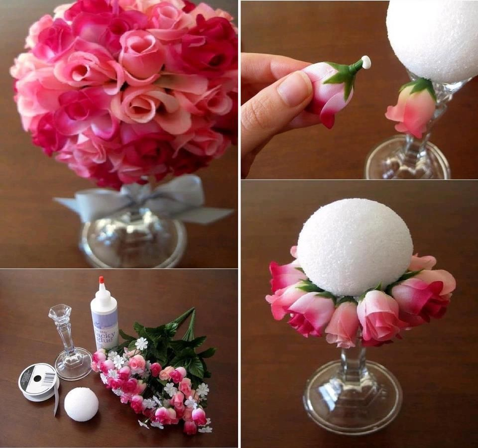 Flower balls are perfect as a centerpiece or hanging up as a nice here are some floral arrangement hacks that will be useful these can be used for arranging flowers to be put as a centerpiece at a wedding reception or izmirmasajfo