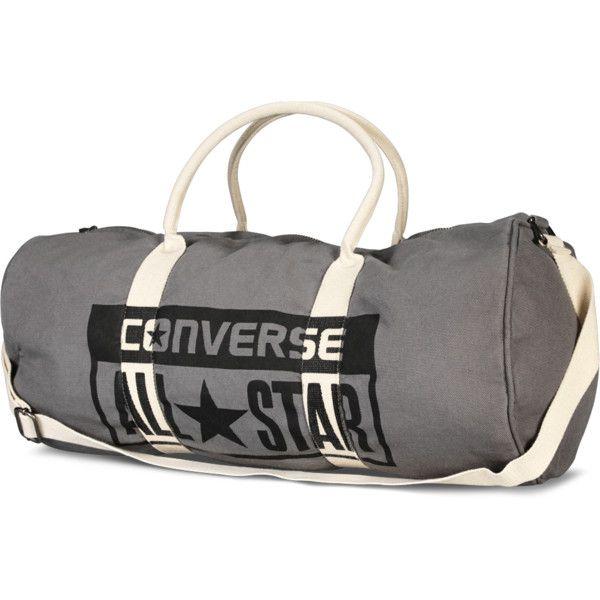 Converse Graphic Barrel Bag – converse charcoal ($38