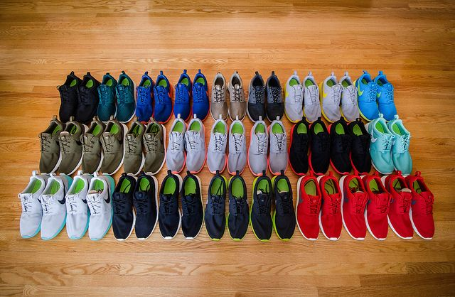 nike roshe collection