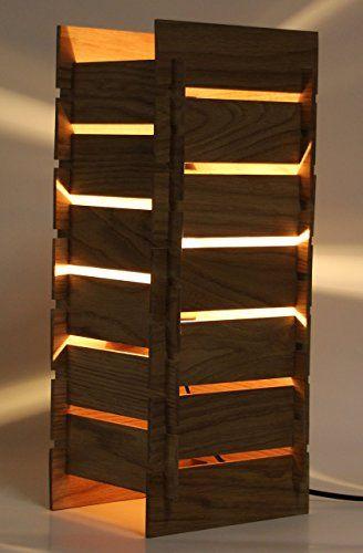 Tischleuchte KAYA ALTO - Stehlampe aus Holz - made in Germany - schlafzimmer eiche