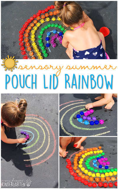 Photo of 10 Ways to Play with Pouch Lids {Sensory Summer}