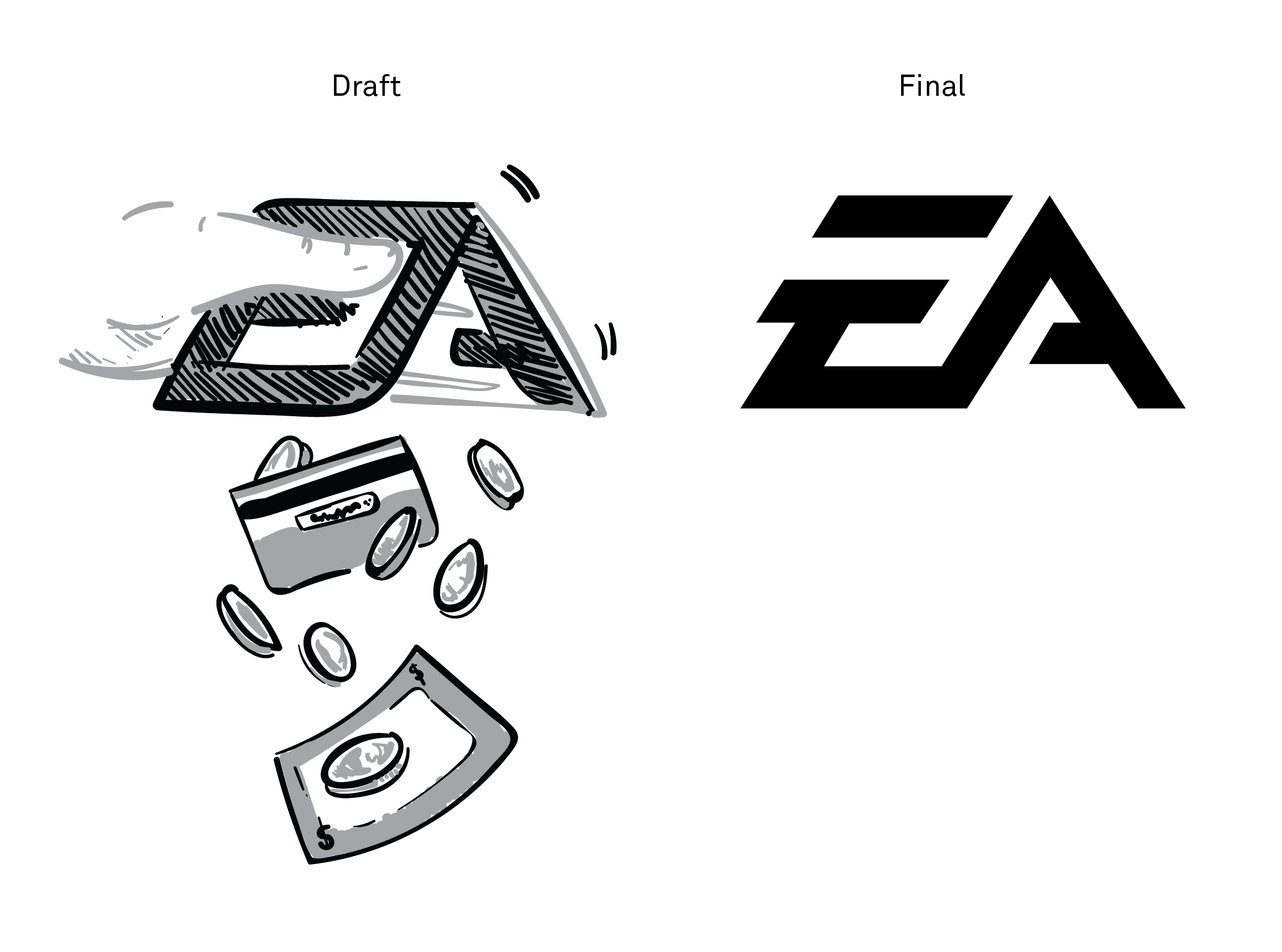 Looking At How Eas Logo Is Designed Explains A Lot