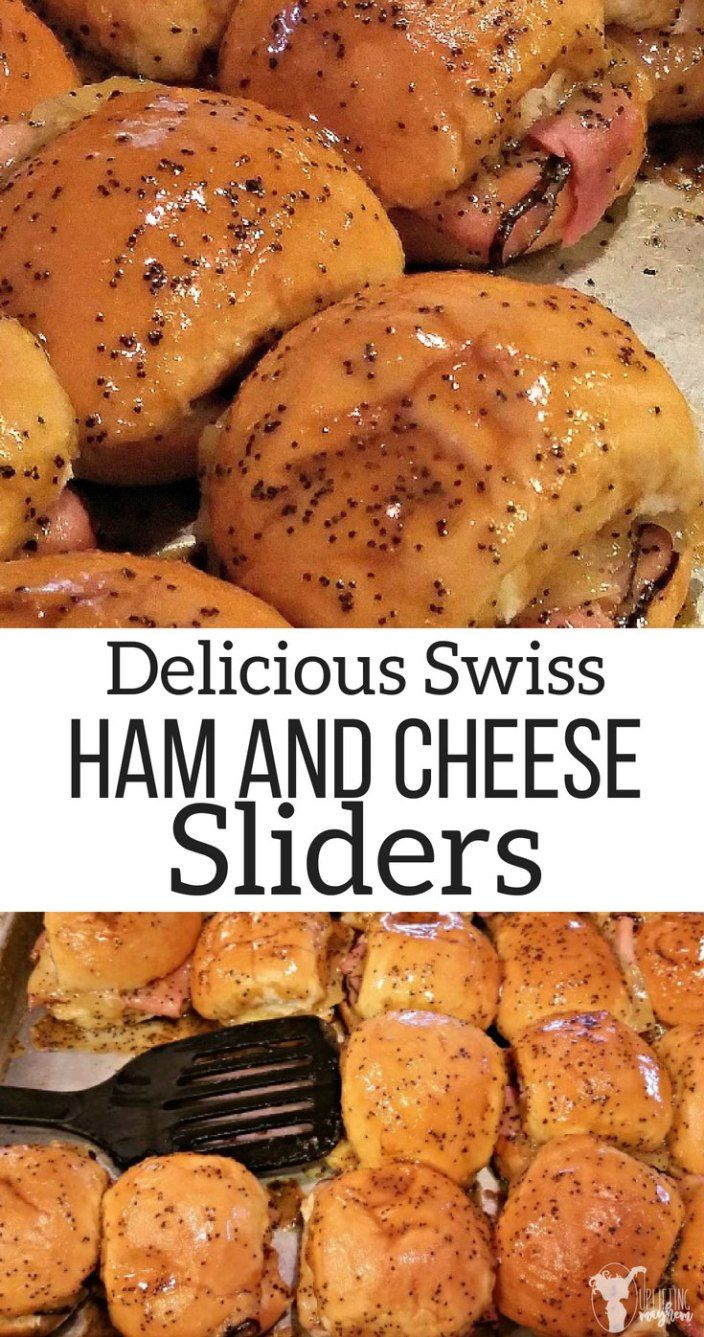 Sweet Ham & Swiss Sliders images
