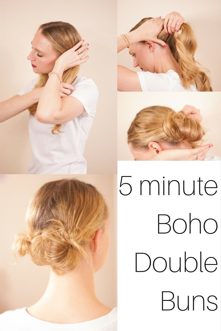 easy minute hairstyles everything beauty pinterest