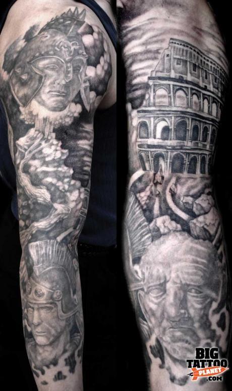 Joe Cosenza Arm Sleeve By Vincent Castiglia Vincent Castiligia