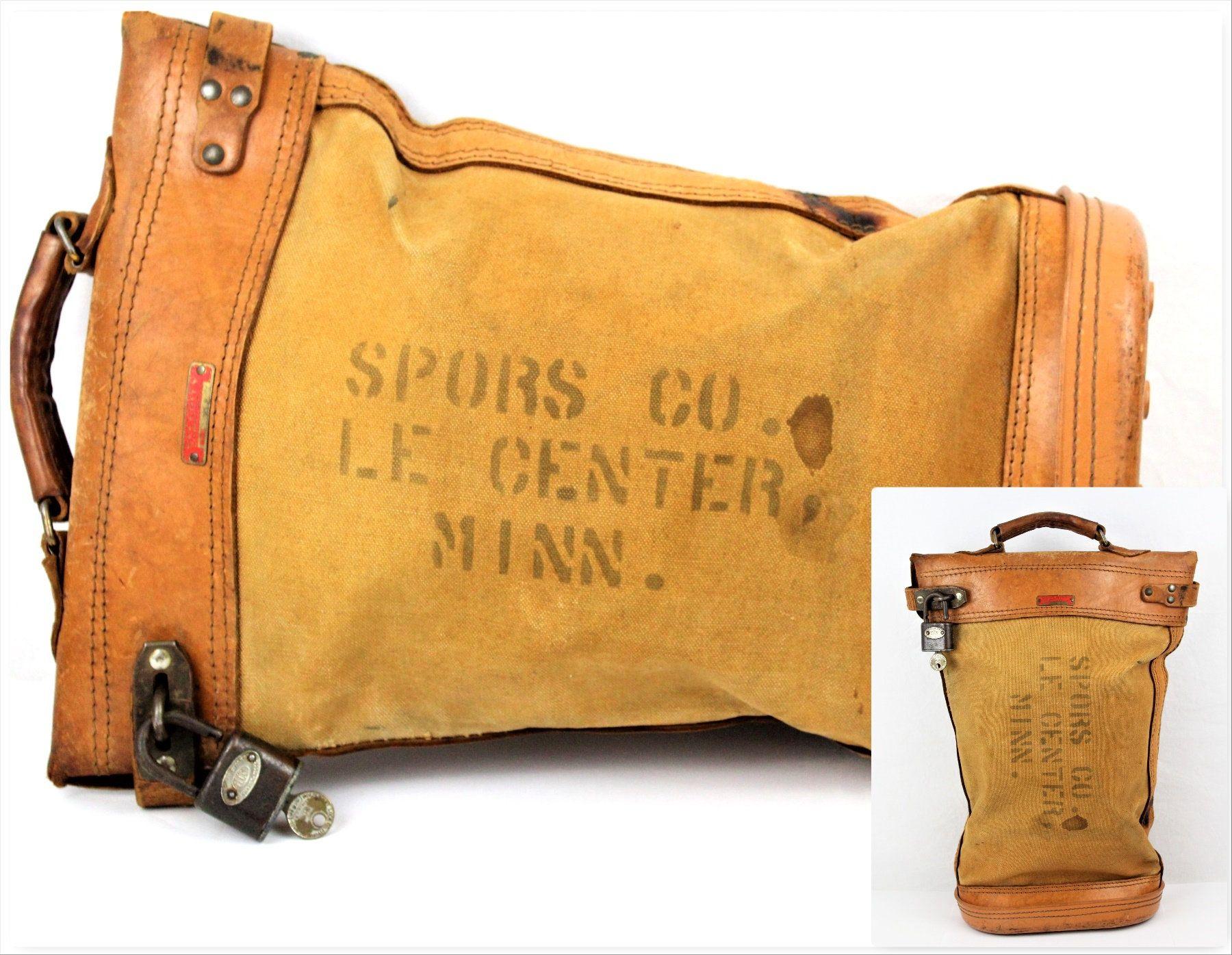 Vintage Security Bag Courier Security Bag Vintage Bank Deposit Bag Security Bag Deposit Bags Lockable Bag