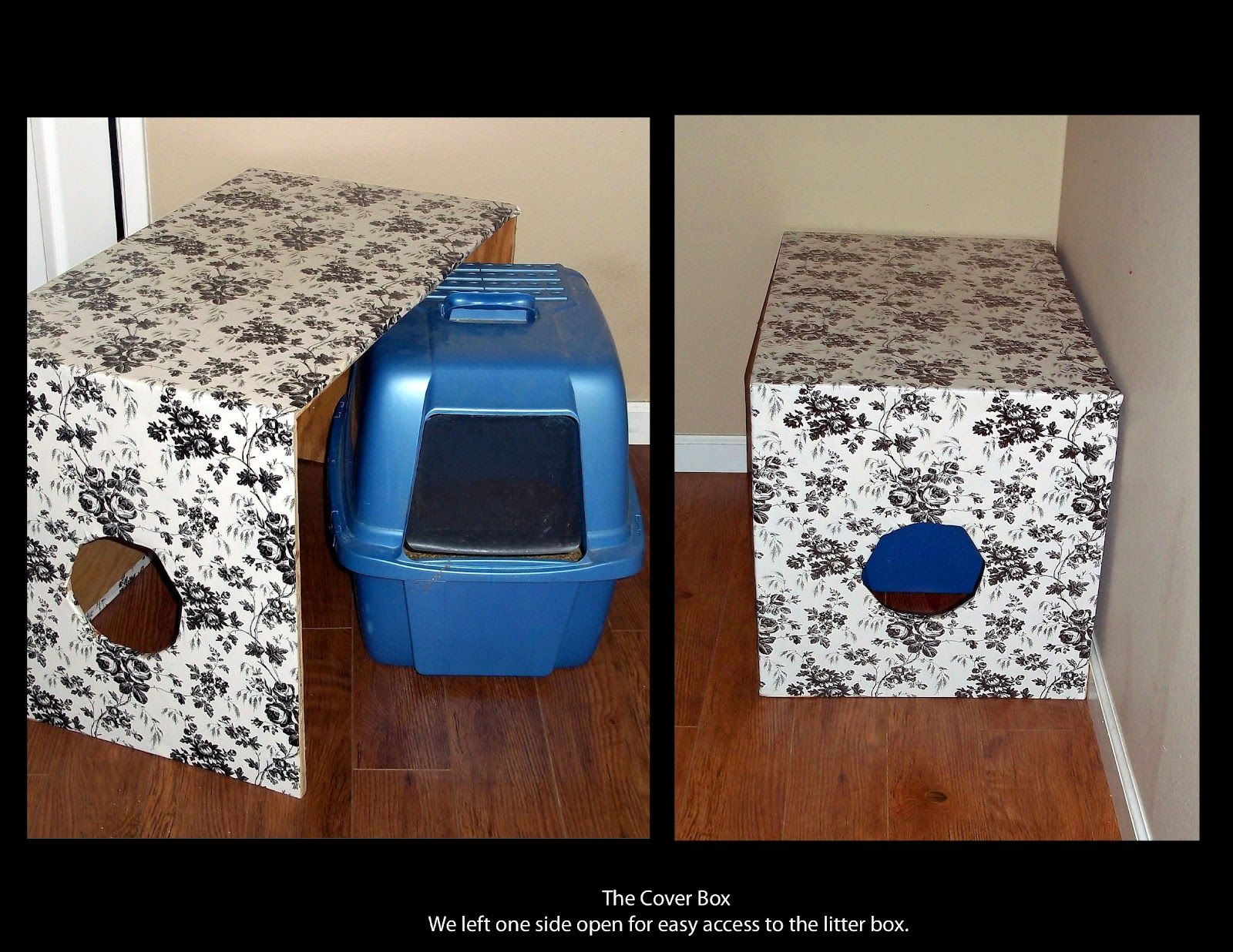 Easy Cat Little Box Cover   Dog Proof. Can Use Those Cheap Storage Boxes To  Decorate U0026 Match Room Itu0027s In.
