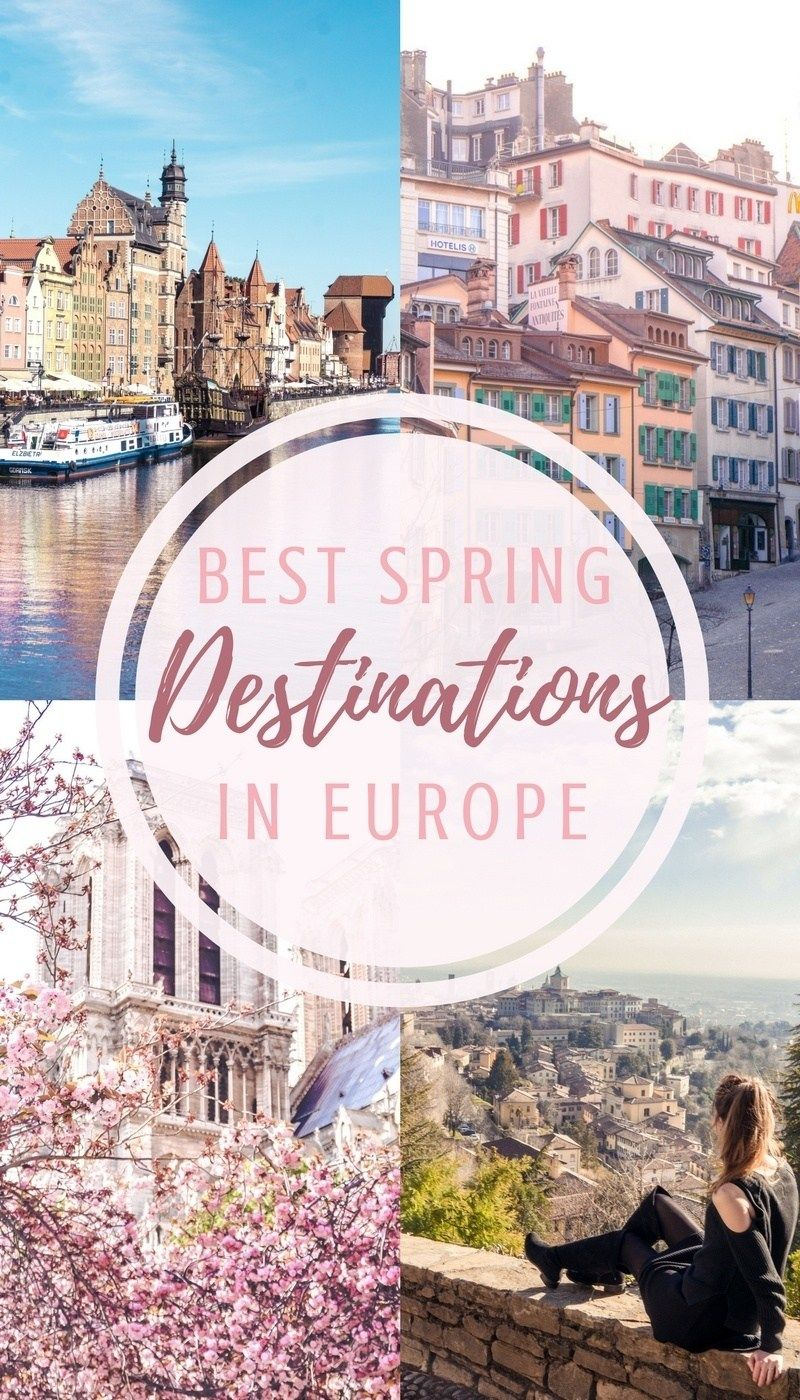 The 16 best spring destinations to head to in Europe. Which cities to visit in the early months of the year. Where to see spring blossom in Europe and which festivals to attend!