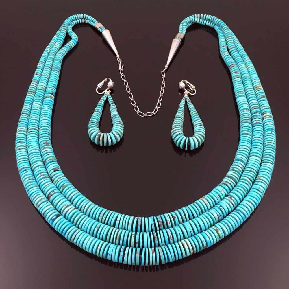 heishi beauty more sleeping front santo views domingo necklace and turquoise
