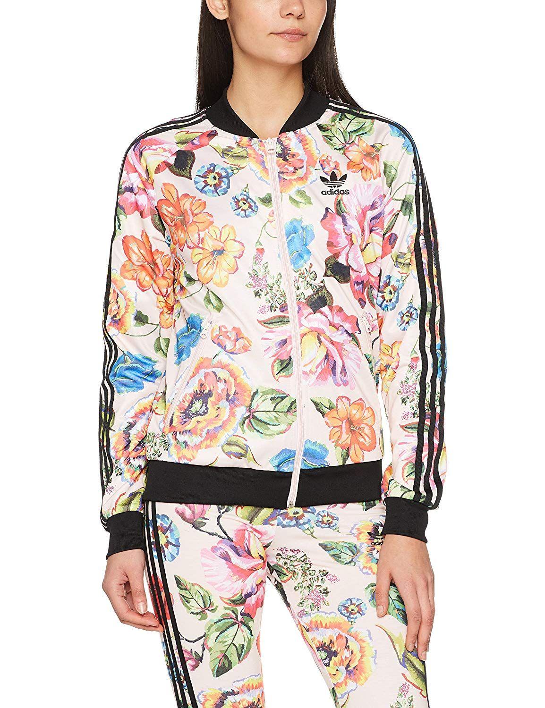 9f0319b32dc adidas Originals Farm Womens Floralita Tropical Superstar SST Track Top  Jacket Price: $82.00 + $22.00 shipping