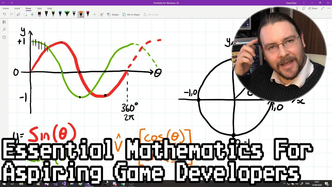 Essential Mathematics For Aspiring Game Developers in 2020
