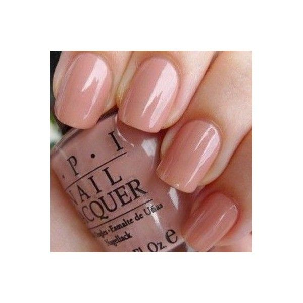 My new Nail Color today. OPI Dulce de Leche found on Polyvore ...