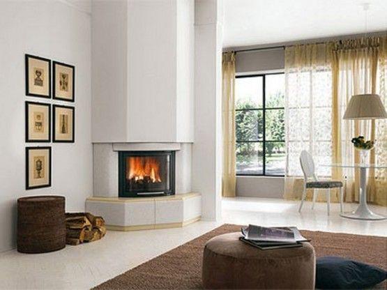19 Best Corner Fireplace Ideas For Your Home Chimeneas Modernas