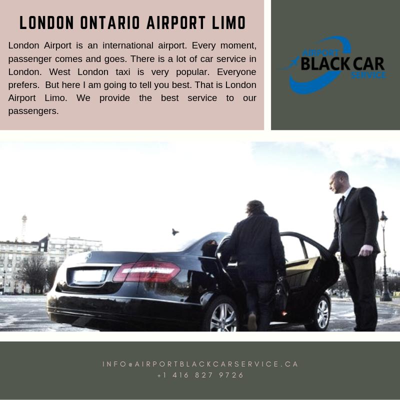 London Ontario Airport Limo Ontario airport, Black car