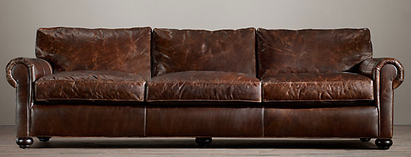 The Fat Hydrangea Restoration Hardware Knock Off Couch