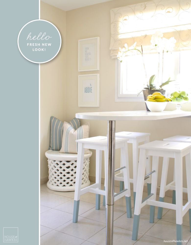 mini kitchen makeover paint dipped ikea chairs ikea hackers ikea hackers idee casa. Black Bedroom Furniture Sets. Home Design Ideas