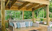 30 Small Backyard Garden Landscaping Ideas 5b8281fa49c81,  #5b8281fa49c81 #Backyard #Garden #... #relaxingsummerporches