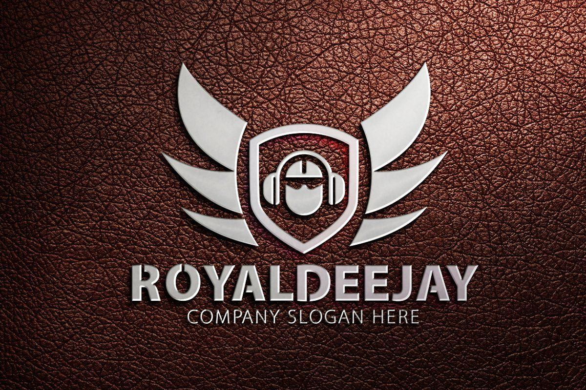 Royal Dj Logo Dj Logo Music Logo Design Logo Design