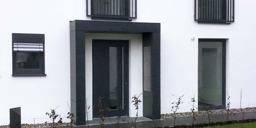 Siebau Vordach In U Form Vordach Eingang Uberdachung Aussengestaltung