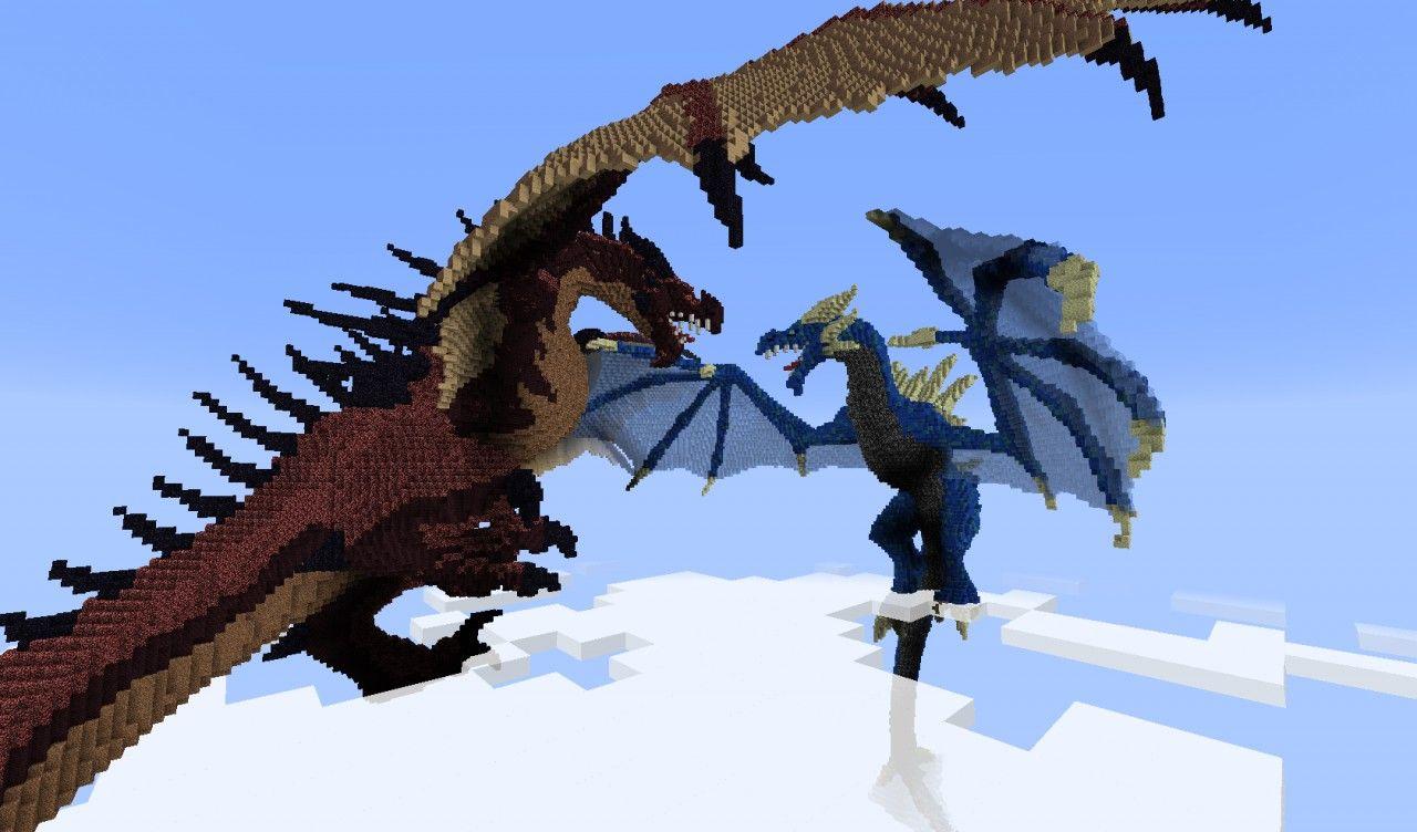 dragons minecraft | minecraft dragon | Minecraft Ideas | Pinterest ...