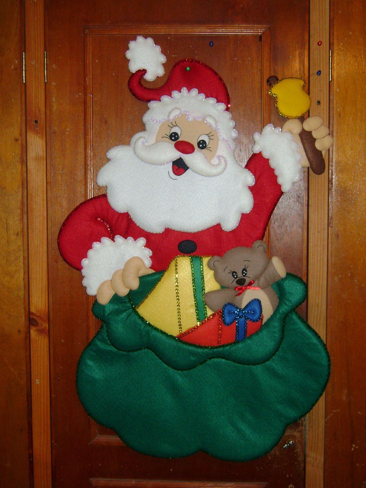 Navidad Papa Noel Pinterest Navidad Manualidades Navidad Y - Manualidades-navideas-papa-noel