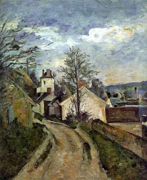 The House of Dr. Gachet at Auvers    circa 1873    Paul Cezanne