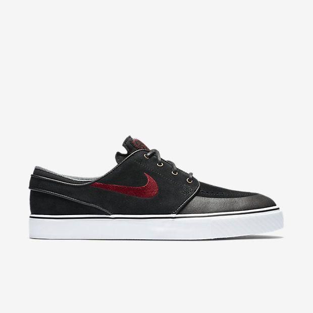 Nike SB Stefan Janoski HT Shane O'Neill Shoes - Black / University Red -  White | Stefan janoski, Nike sb janoski and Black trousers
