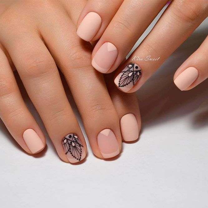 French Tip Nail Designs: Create Your Perfect Mani ☆ See more:  https://naildesignsjournal.com/french-tip-nail-designs/ #nails - French Tip Nail Designs: Create Your Perfect Mani Nailed It