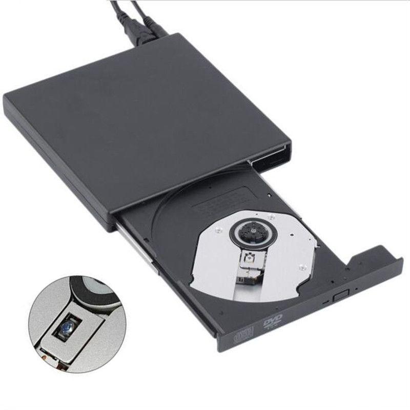 USB 2.0 외부 광학 DVD 드라이브 콤보 CD RW 버너 작가 레코더 Portatil DVD ROM 플레이어 노트북 컴퓨터 pc 윈도우 7/8