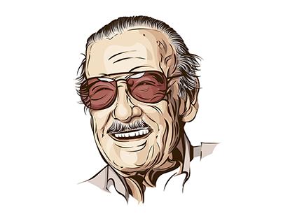 Check Out New Work On My Behance Portfolio Stan Lee Http Be Net Gallery 73257661 Stan Lee Cartoon Art Comic Art Art