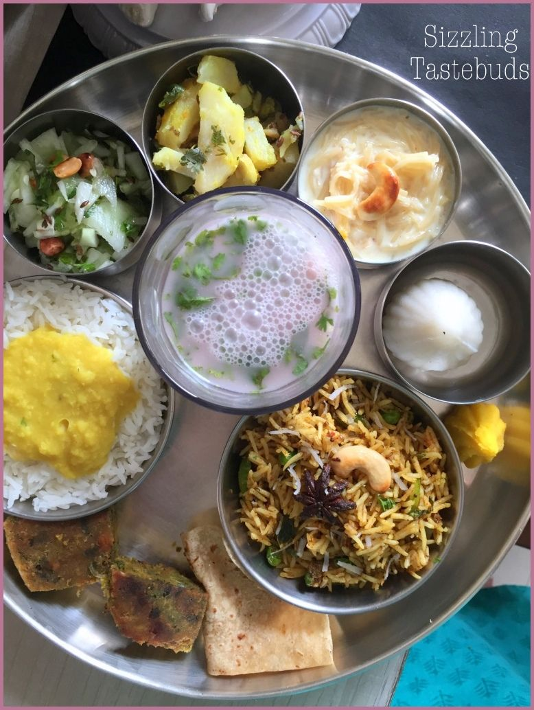 Ganpati Festival Maharashtrian Thali Indian Food Recipes