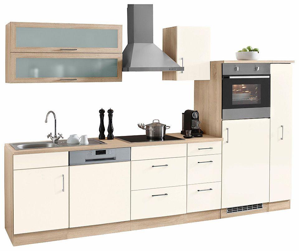 Held Möbel Küchenzeile »Dallas« mit E-Geräten, Breite 300 cm Jetzt - küchenzeile 160 cm