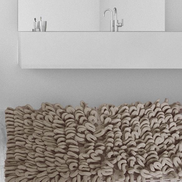 Merveilleux Micro Chenille Thick And High Loop Bath Rug Products Pinterest