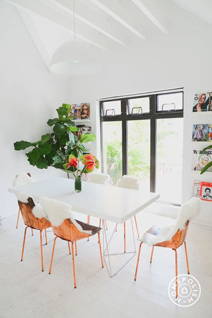 Into The Gloss's Downtown Office @Homepolish New York City