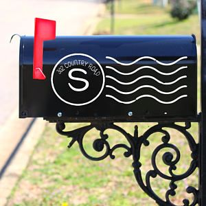 Decorative Mailbox Decals Mailbox Stamp Decal Mailbox Letters