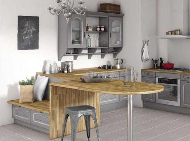 petite cuisine avec banquette lapeyre cuisine pinterest cuisine et banquettes. Black Bedroom Furniture Sets. Home Design Ideas
