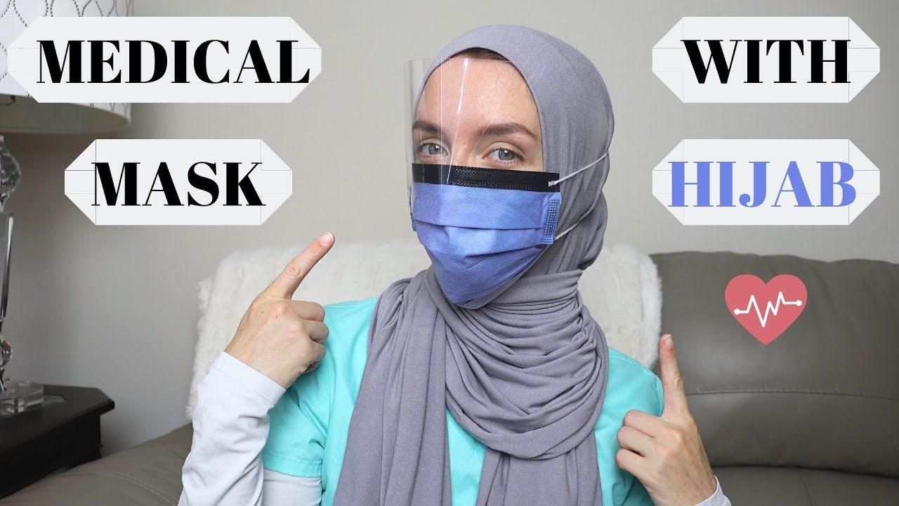 How to Wear a 😷 Medical Mask with Hijab!🧕 (Best Trick) | Jess – JVeil