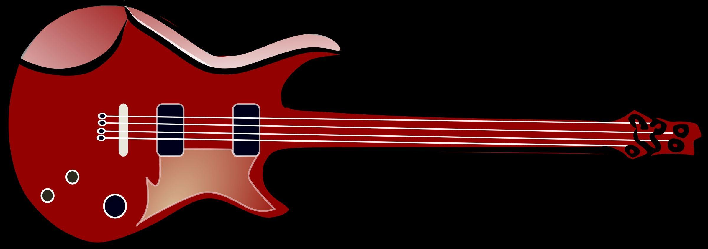 Bass Guitar Clipart Images