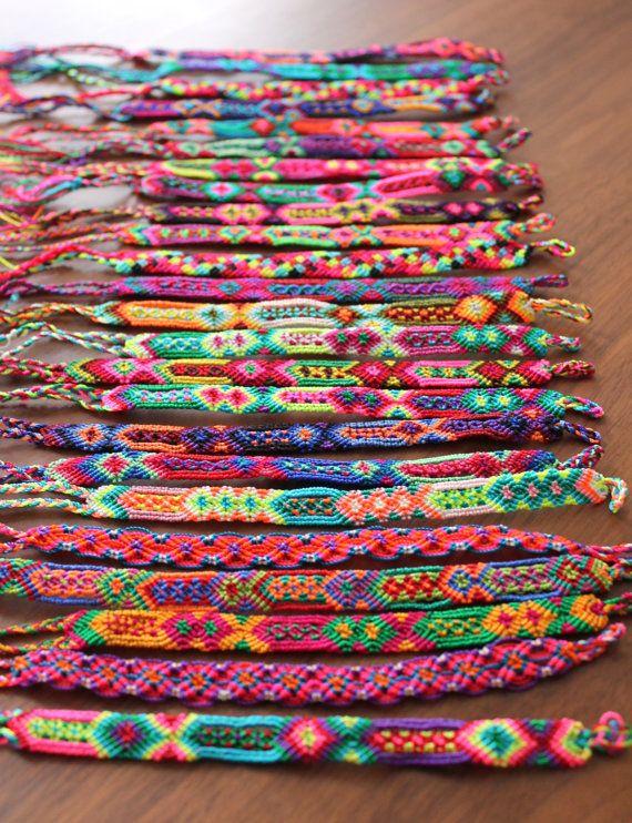 626a4ede5fc3 Set de Pulseras artesanales tejidas hechas a mano mayoreo ...