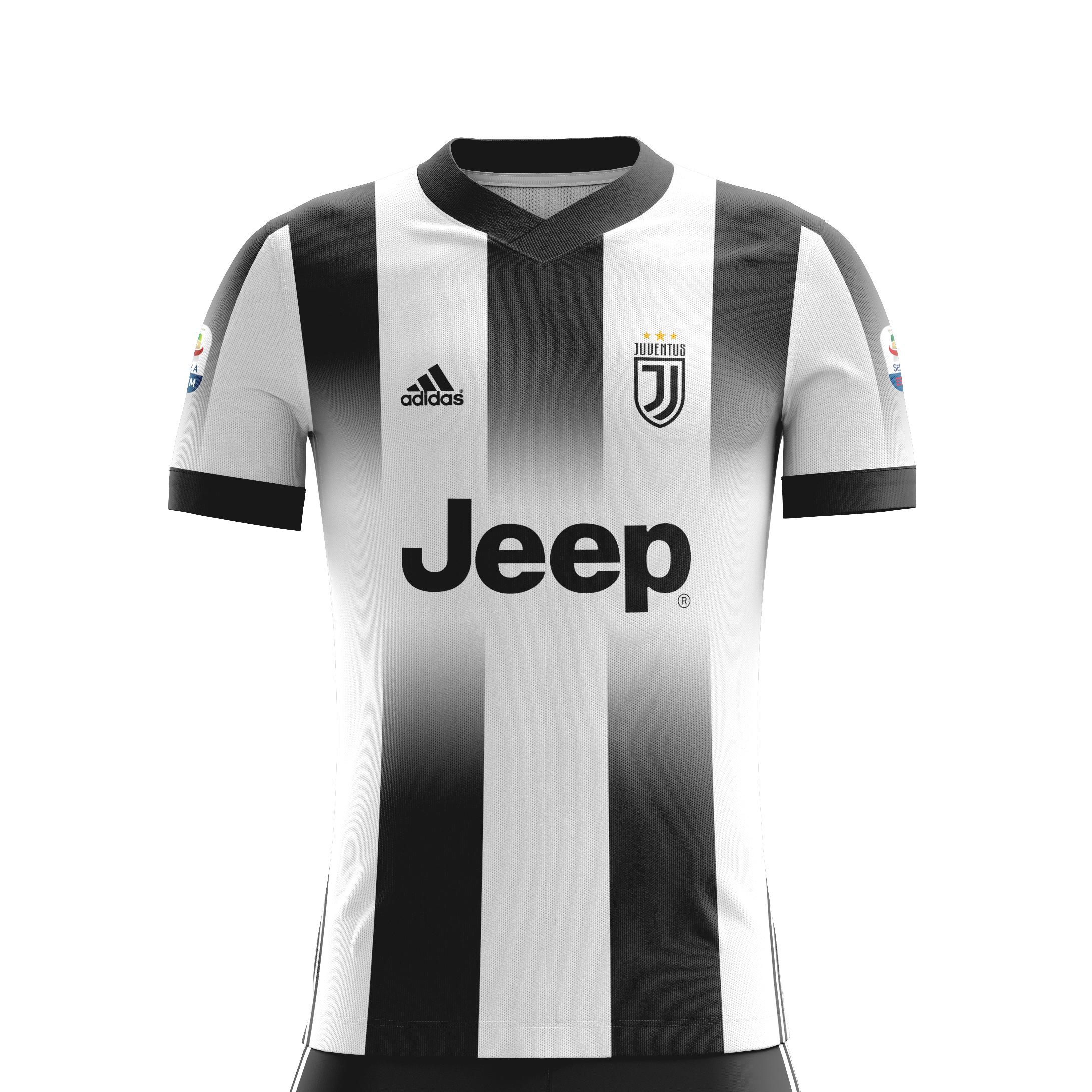 S adidas Juventus Black /& Gold Polo 2018-2019