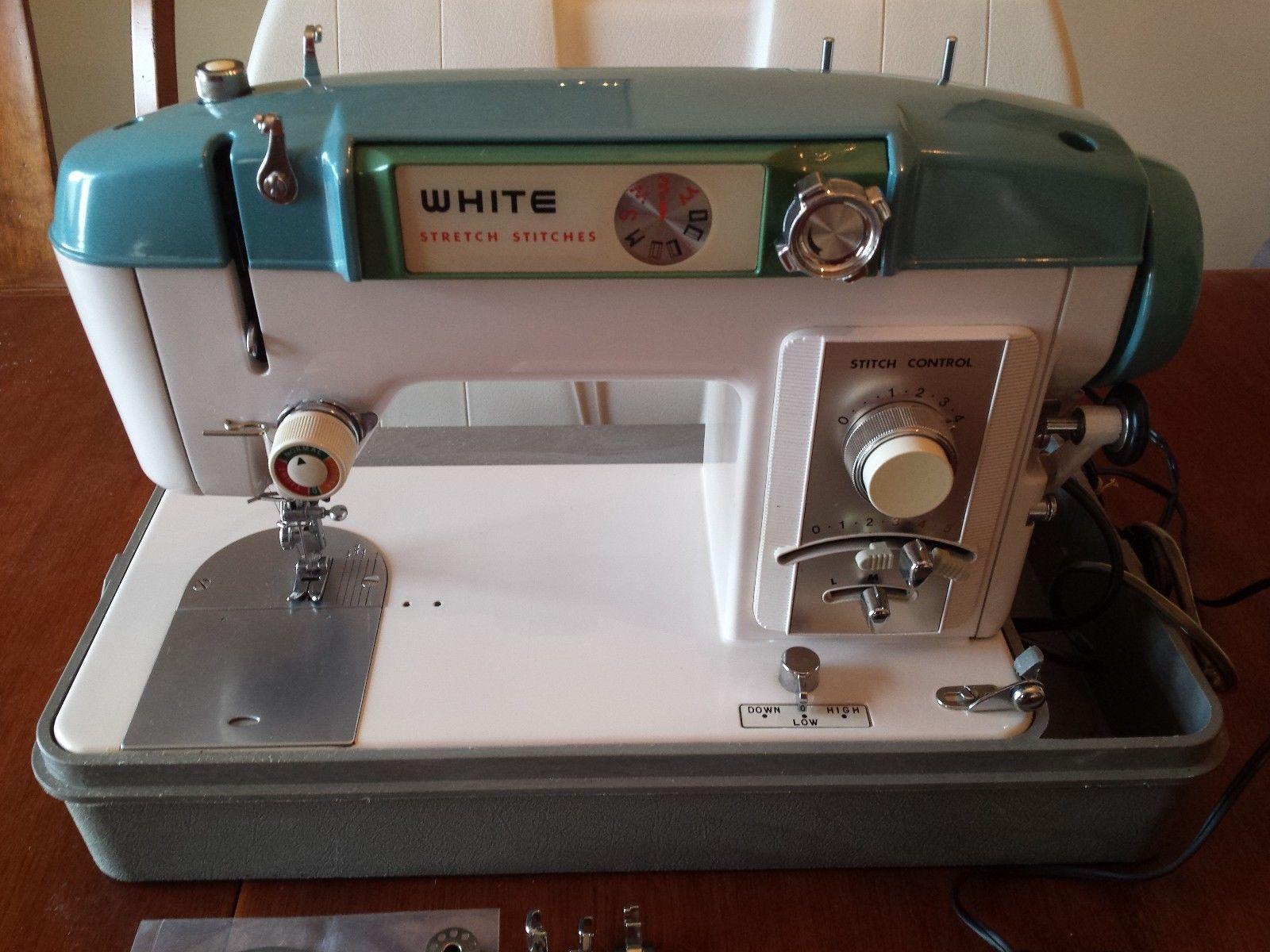 White sewing machine model W940 White Sewing Machine, Vintage Sewing  Machines, Zig Zag