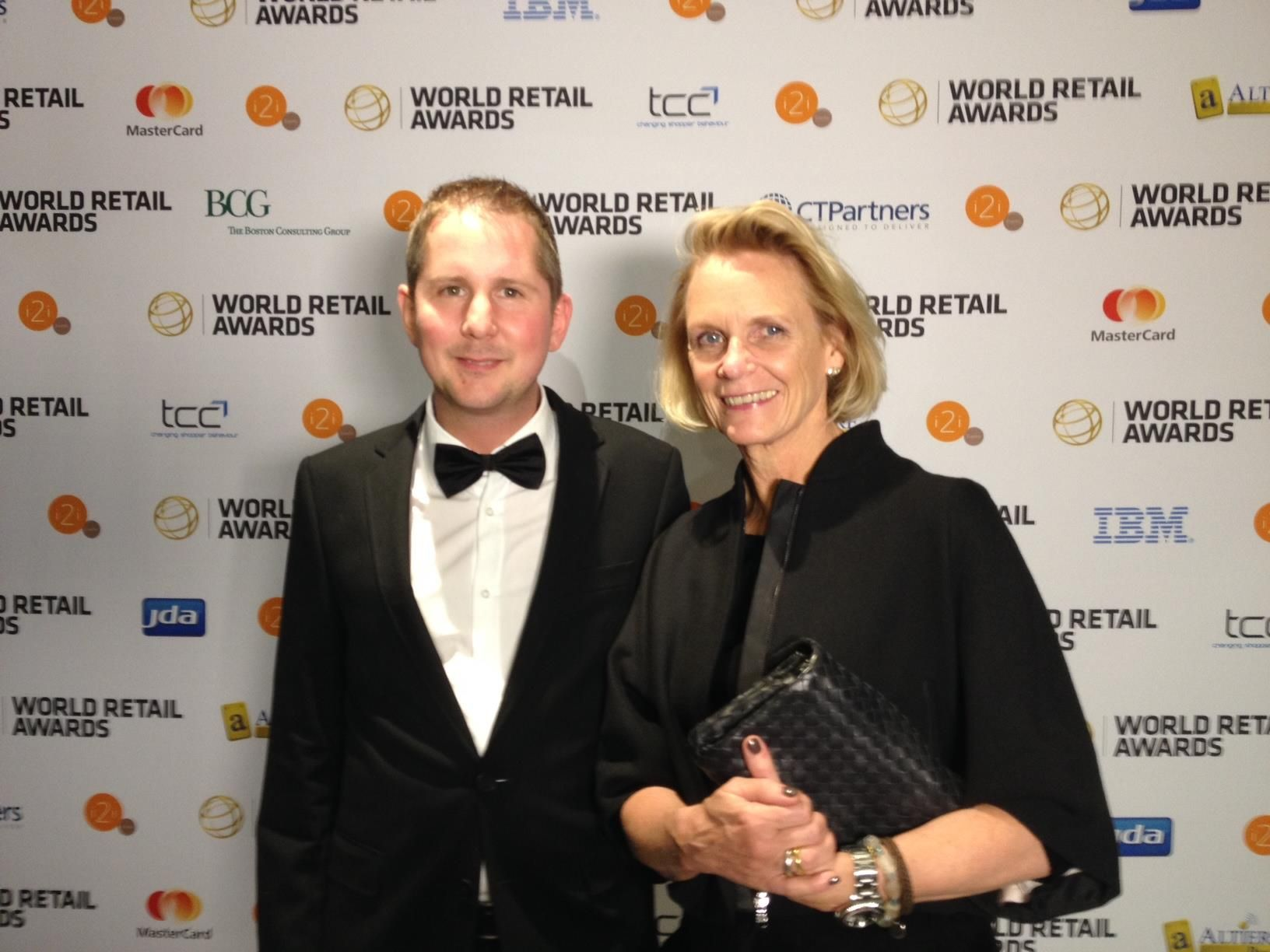 Innenarchitekturbüro Stuttgart jutta blocher and christoph huber at the retail awards 2014 in
