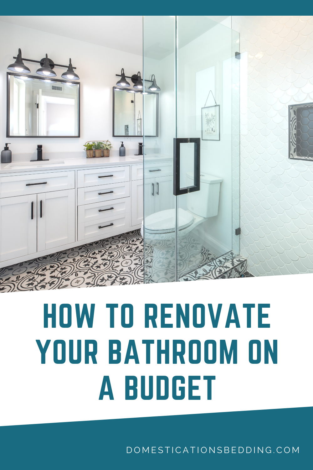How To Renovate A Bathroom On A Budget In 2020 Budget Bathroom Small Bathroom Renovations Renovations