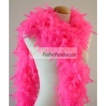 65 Gram CHANDELLE FEATHER BOA ROSE PINK 2 Yards NEW Party//Costume//Halloween
