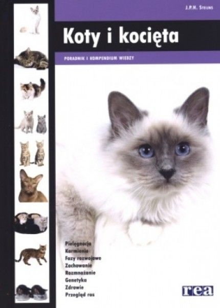 Koty I Kocieta Poradnik I Kompendium Wiedzy J P H Steijns Ksiegarnia Internetowa Aurelus Shows Art Online